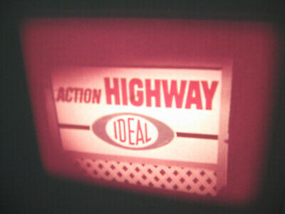 VTG 16mm IDEAL TOY Film Commercial - MOTORIFIC ACTION HIGHWAY MIDNIGHT EXPRESS