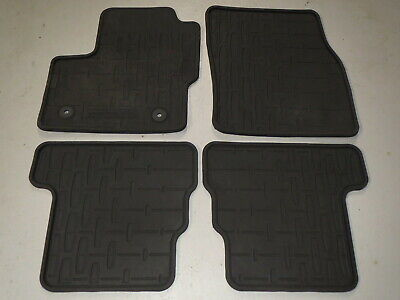 All Weather Floor Mats >> 13 Thru 16 Mkz Oem Genuine Lincoln Black Rubber All Weather