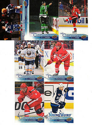 2016-17 Upper Deck Hockey Inserts UD Canvas UD Portraits Pick Cards from list