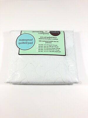 American Baby Company Waterproof Embossed Quilt-like Portable/Mini Protective Pa