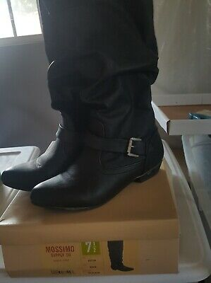 Women's Mossimo Supply Co.  boots, black, size 7-7.5