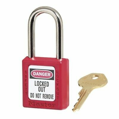 MasterLock 410 Thermoplastic Safety Padlock Lockout (BOX OF 6) | AUTH. DEALER