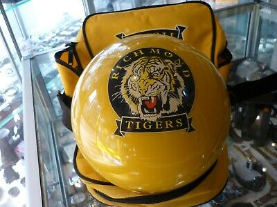 Official Afl Tenpin Bowling Ball Richmond Tigers  With Carry Case - Aussie Stock