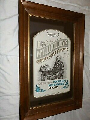 5x3 Cardboard Double Drink Coaster Dr McGillicuddy/'s Mint Schnapps 25 Pack