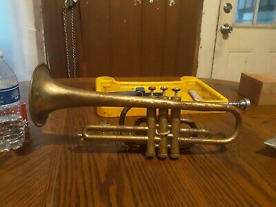 Working As Is VINCENT BACH Bundy Selmer Trumpet