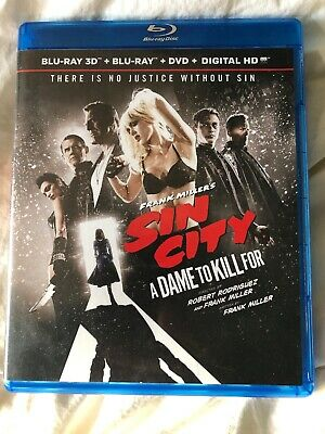 Frank Millers Sin City: A Dame to Kill For (Blu-ray/3D Blu-ray) FORMER RENTAL