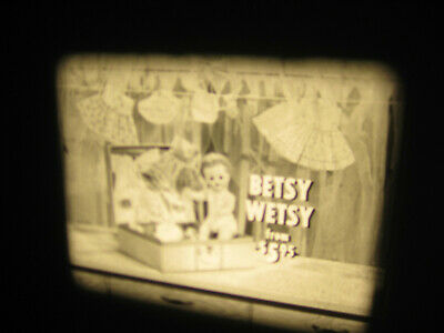 VTG 16mm IDEAL TOY Film Commercial - BETSY WETSY DOLL #2  N-4