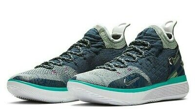 Nike Zoom KD 11 BHM Mens Basketball Shoes 10.5 Blue Void Squadron