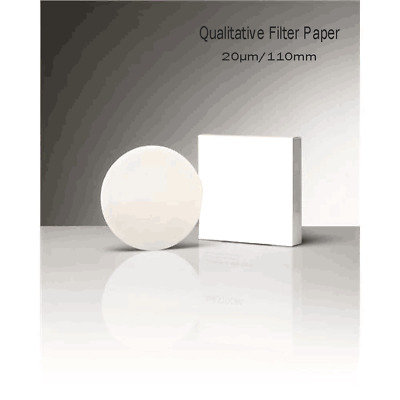 100pcs Qualitative Filter Separation Paper use with lab holder 20μm,110mm,Fa's't