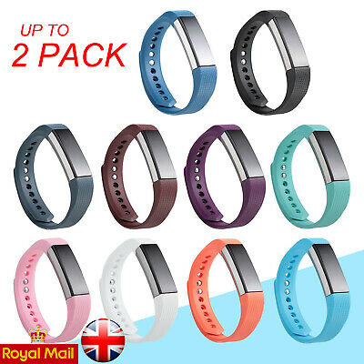 Replacement Wrist Straps Wristbands Silicone Watch Bands fits Fitbit Alta / HR