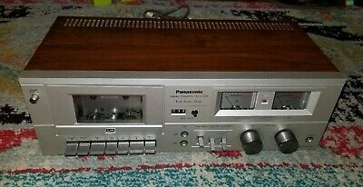 WORKING! Vintage Metal Panasonic RS-608 Stereo Cassette Tape Player