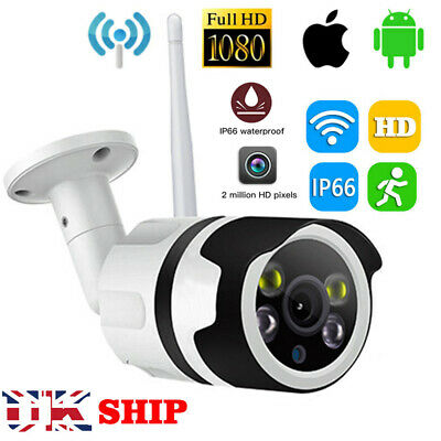 WIFI Wireless 1080P HD IP Camera Network Cam CCTV Security IR Night In/Outdoor