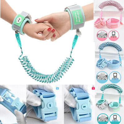 AU Safety Leash Anti Lost Baby Toddler Kids Wrist Link Wristband Ropes