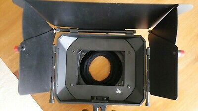 FILMCITY Matte Box (for 15mm rod systems) and Generic 100mm Square ND Filters