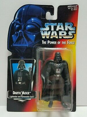 Darth Vader Star Wars Power Of The Force Kenner 1997 Red Card
