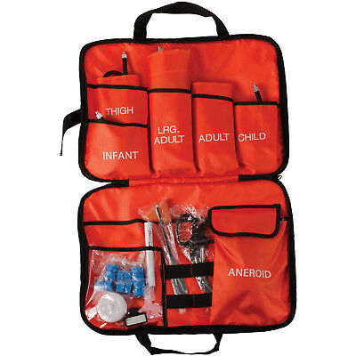 MABIS All-in-One EMT and Paramedic First Aid Kit and Carrying Case, Orange