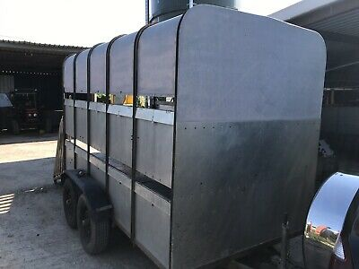 used ivor williams trailers Cattle Sheep Horses