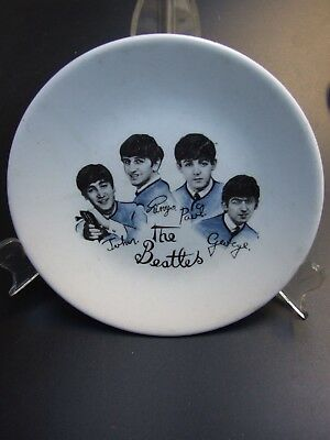 Original The Beatles Plate Washington Pottery Hanley England Rare Vintage 1960's