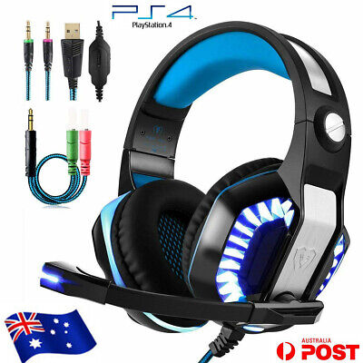 GM2 Stereo Gaming Headset for PS4 XBOX XBOX ONE 360 PC Laptop Mic Bass Surround