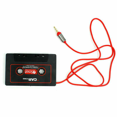 Car Casette Tape 3.5mm AUX Audio Adaptor For MP3 MP4 Players CD Radios AUstock