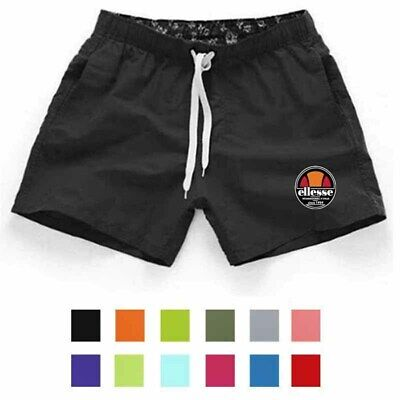 Ellesse Mens Summer Casual Beach Shorts Quick Dry Trunks Board Swimming Pants