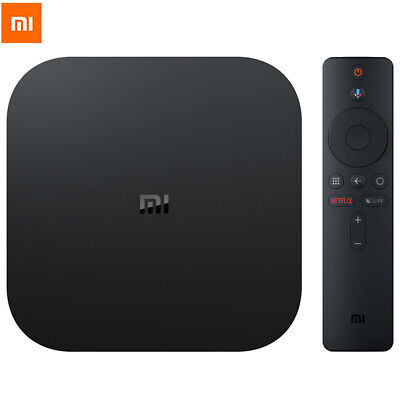 Xiaomi Mi Box S 4K HDR TV Box Android 8.1 8GB 2.4G+5.8G WiFi Google Assistant EU
