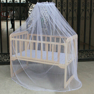 NEW Mesh Mosquito Curtain Net Arched netting baby Toddler Crib Bed Cot Nursery