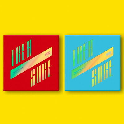 Ateez - Treasure Ep.3 : One To All (Wave/Illusion Ver.) CD+Booklet+Photocard NEW