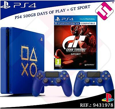 PS4 500GB +2 Controls PLAYSTATION 4+1 Set Gran Turismo Gt Sport Collector