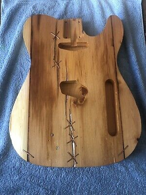 Telecaster Body Finished Barncaster Project Luthier Parts