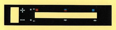 Dash Heater Slide decal - Ford Escort Mk2, Ford Capri Mk2 & Mk3