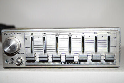 PIONEER CD-5 Component Centrate 7-Band Graphic Equalizer vintage old school NOS