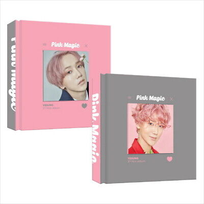 Yesung - Pink Magic (3rd Mini Album) CD+Photobook+Photocard Sealed