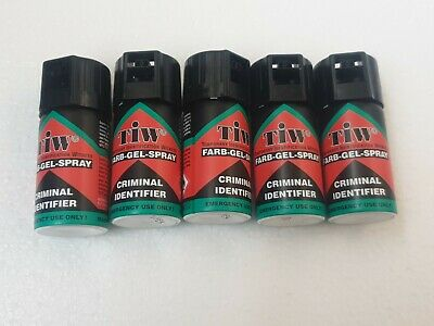 5X  Farb Gel - UK Legal Self Defence Spray - Personal Security Protection
