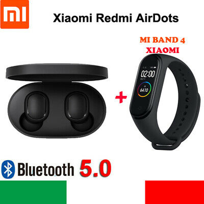 Xiaomi Mi Band 4 Smart Bracelet +Redmi AirDots Wireless Earphone BLUETOOTH M3