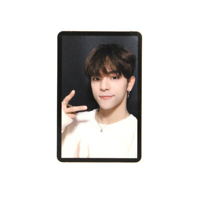 [STRAY KIDS]Cle 2:Yellow Wood/Side Effects/Official Photocard / BLACK - WOOJIN