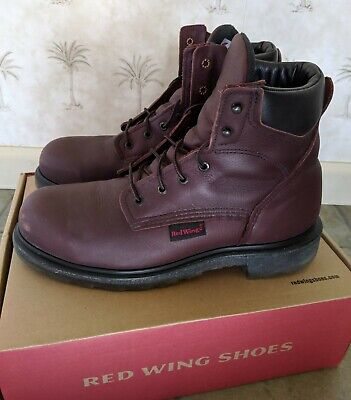 bda9f49b31f RED WING 2406 Steel Toe Boots - 10.5 - Electric Hazard Supersole 2 - Made  In USA