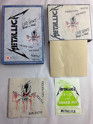 Metallica Live Shit & Binge Rare European Dvd Version Neuwertig like New