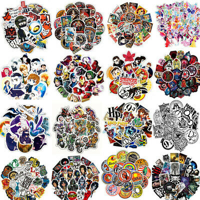 30pc Skateboard Graffiti Stickers Vinyl Laptop Luggage Decals Motorcycle Sticker