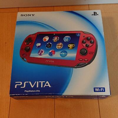 Sony PlayStation PS Vita Slim Cosmic Red PCH-1000 ZA03 Game Console