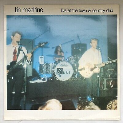 David Bowie & Tin Machine - Live At The Town & Country Club Vinyl - 27.06.89