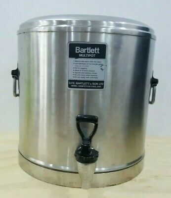 Bartlett Multipot Hot or cold Drinks Urn