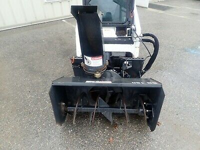 "2015 Bobcat Sb150 36"" Snowblower, 2 Stage, Hyd Chute, For S70 Skid Steers & More"