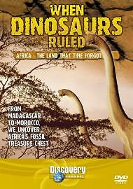 When Dinosaurs Ruled : Africa - The Land Time Forgot (DVD, 2005)