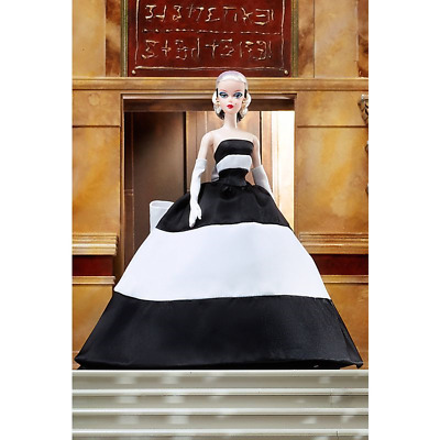 NRFB Barbie 2019 Black and White Forever Silkstone Gold Label Doll Robert Best