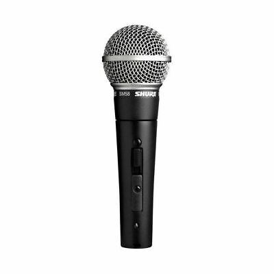 Shure SM58 Cardioid Handheld Dynamic Vocal Microphone w/ On/Off Switch
