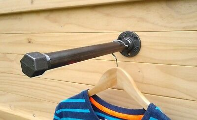 Vintage Urban Industrial Clothes Rail,Coat Rack,Garment Rack Made from Cast Iron