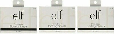 (BUY2 GET1 FREE ADD3 TO CART) elf Shine Eraser Blotting Sheets, 30 Sheets #1736