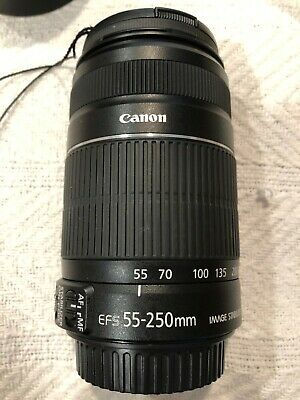 Canon EF-S 55-250mm F/4-5.6 II IS Lens - Canon Telephoto Zoom