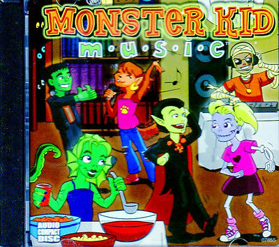 Monster Kid Music 45 Minutes Of Rockin' Childrens Halloween Party Music Oop Rare